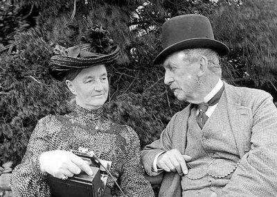 Lady Augusta & 4th Baron Clonbrock, 1904