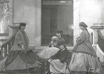 Sisters of 3rd Baron of Clonbrock, 1860s