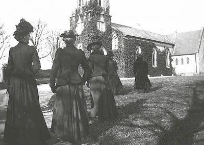 Going to Church Ahascragh
