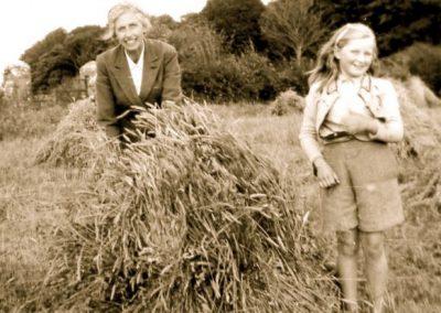 avina & Charity Atkinson, Cornfield, Eyreville 1930s