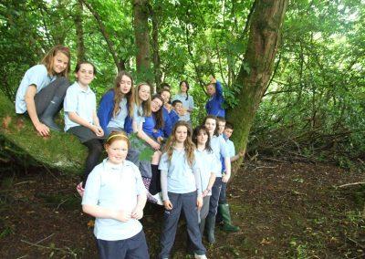 Fohenagh School Nature Trip, Clonbrock Wood