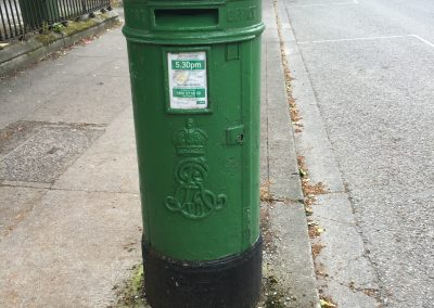 Post Box Ballsbridge