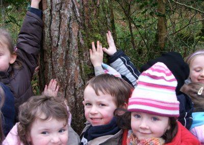 Derrycrag Wood, Nature Trip St. Joseph's School Woodford